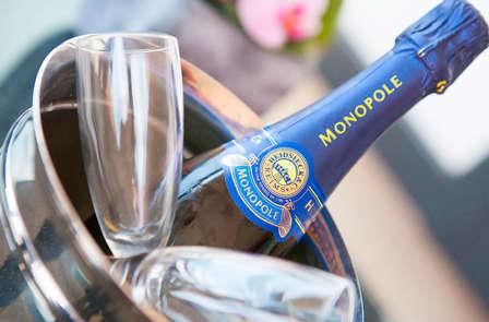 Week-end détente et romantique avec champagne à Cannes