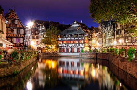Détente à Strasbourg avec accueil Champagne