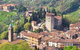 Asolo romantica tra ville, colli e castelli