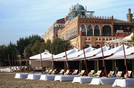 Luxe en demi-pension sur le Lido de Venise (à partir de 3 nuits)