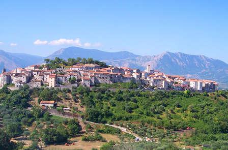Perditi nella tranquillita' dei colli Lucani