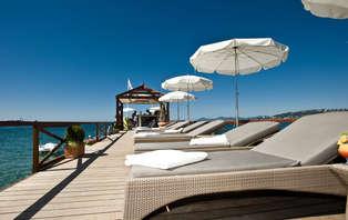 Week-end détente à Juan Les Pins en chambre vue mer