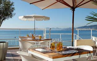 Farniente sur la French Riviera à Juan les Pins