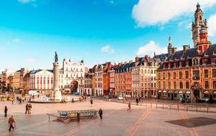 Week-end détente dans la capitale des Flandres avec croisière sur les canaux