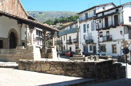 Sol y montaña en Candelario