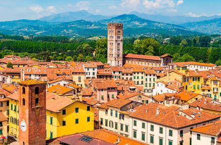 Het prachtige platteland van Lucca