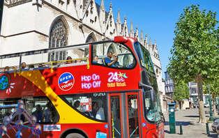 Ontdek veelzijdig Brussel met de hop-on hop-off bus