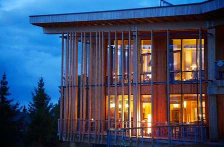 Alojamiento en un hotel de diseño en Arcs 1800 con vistas al Mont-Blanc