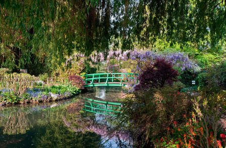 In de voetsporen van Claude Monet in Giverny