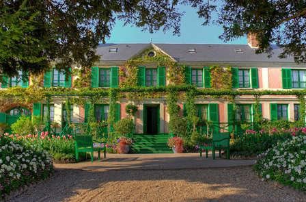 Week-end détente et culture à 1h de Paris avec visite des jardins et de la maison de Claude Monet