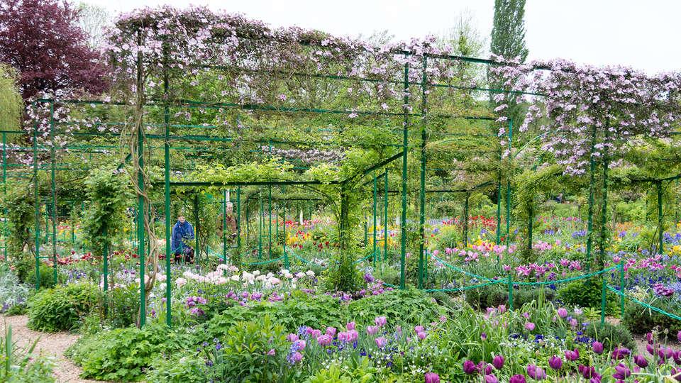 Week end culturel rolleboise avec 1 visite de la maison de for Visite de jardins en france