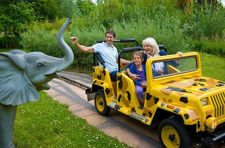 Speciale aanbieding: weekend met het hele gezin met toegang tot attractiepark Mer de Sable