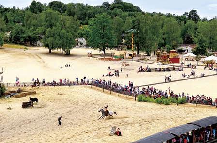 Soggiorno in famiglia con ingresso al parco divertimenti Mer de Sable