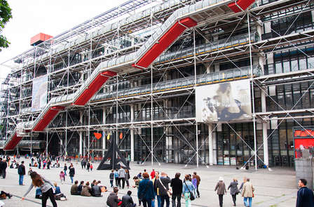 Week-end à Paris avec visite du Centre Pompidou
