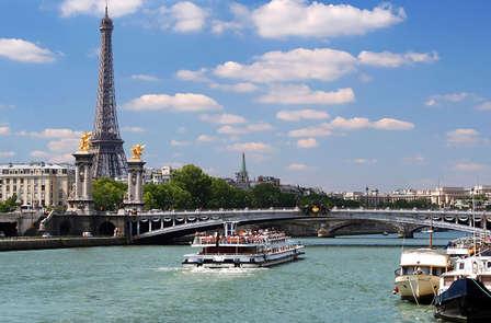 Week-end avec croisière sur la Seine à Paris