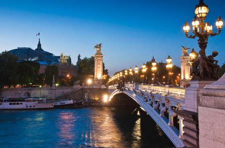 Escapada relax con crucero por el Sena en París