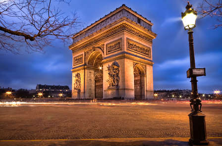 Week-end nel cuore di Parigi con visita all'Arco di Trionfo