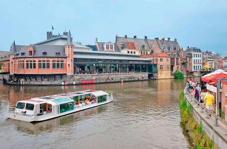 Charme weekend met boottocht in het nabij gelegen Gent