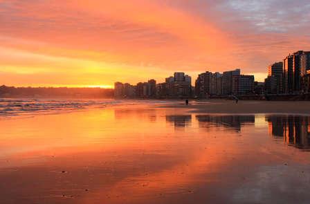 Romanticismo con vistas al mar en Gijón