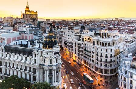 Escapada en superior con detalle de bienvenida en Madrid (desde 2 noches)