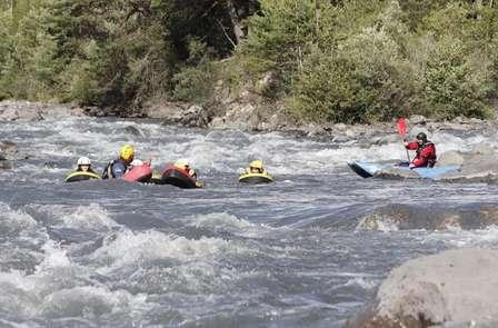 Week-end sportif avec Rafting dans les Alpes de Haute-Provence