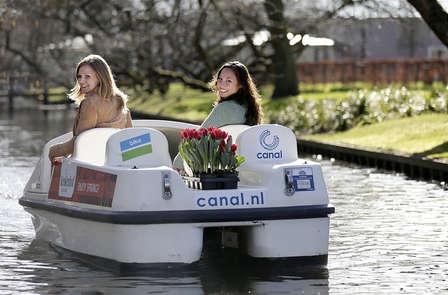Keukenhof inclusief fietshuur in het schitterende Delft