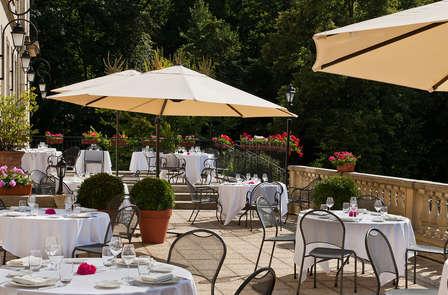 Week-end détente avec diner au château à Chantilly