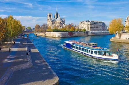 Naviguez au cœur de Paris, la ville Lumière