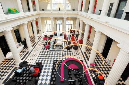 Séjour dans un ancien Palais de Justice à Nantes