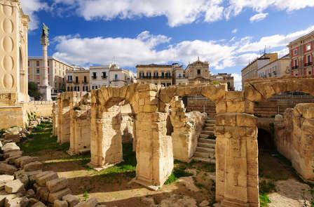 Week-end romantique dans la charmante ville de Lecce