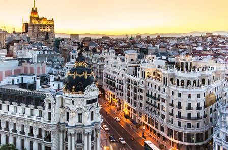 Week-end romantique dans le centre de Madrid (2 nuits)
