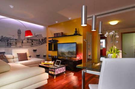 Ontdek Barcelona vanuit een ruim en luxe appartement (tot 6 personen)