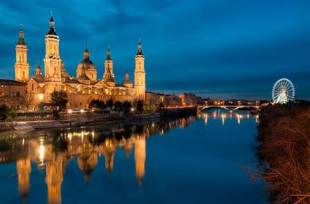 Noche romántica con spa en Zaragoza
