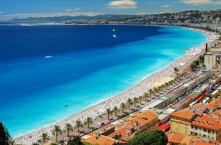 Week-end sur la côte d'azur à Nice