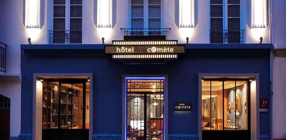 H tel com te paris h tel de charme paris for Paris hotel de charme