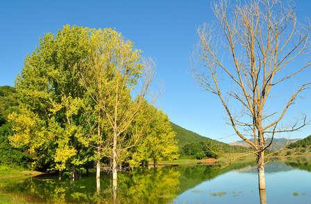 Aire puro entre paisajes verdes en Fiuggi