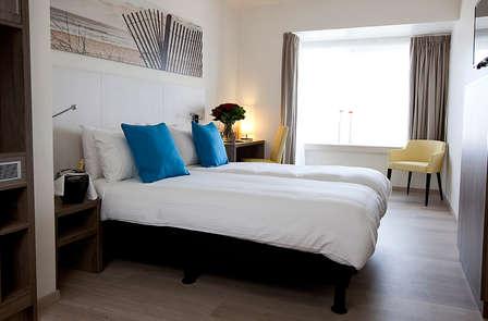Uitslapen in een luxe kamer aan zee in Oostende