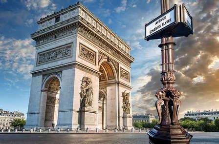 Paris en famille avec visite de l'Arc de Triomphe (à partir de 2 nuits)