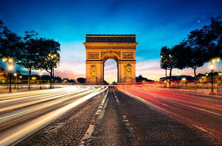 Weekend con visita all'Arco di Trionfo e soggiorno nel cuore della Ville Lumière