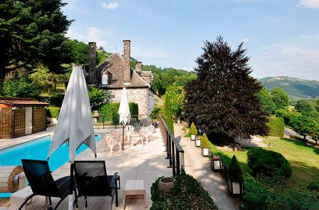 Week-end dans un hôtel de luxe à proximité d'Aurillac
