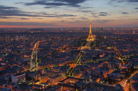 Weekend a Parigi, vicino alla porta di Saint Cloud