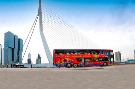 Ontdek Rotterdam per bus en bezoek de Euromast (vanaf 2 nachten)
