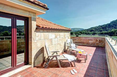 Escapada relax con cena y spa ilimitado en Cantabria