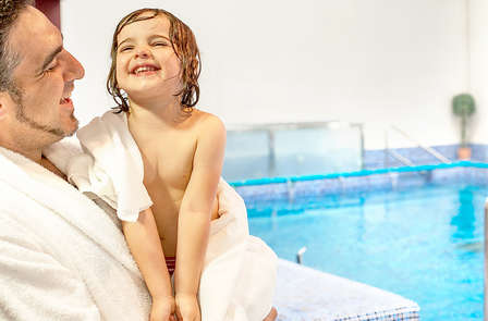 ¡Bienestar en Familia! Pensión completa, spa y con la opción de 1 niño gratis