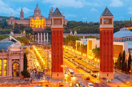Week-end romantique avec dîner à Barcelone (à partir de 2 nuits)