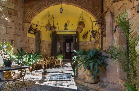 Oferta en Jaén en habitación superior, cena, cava y visita al Castillo