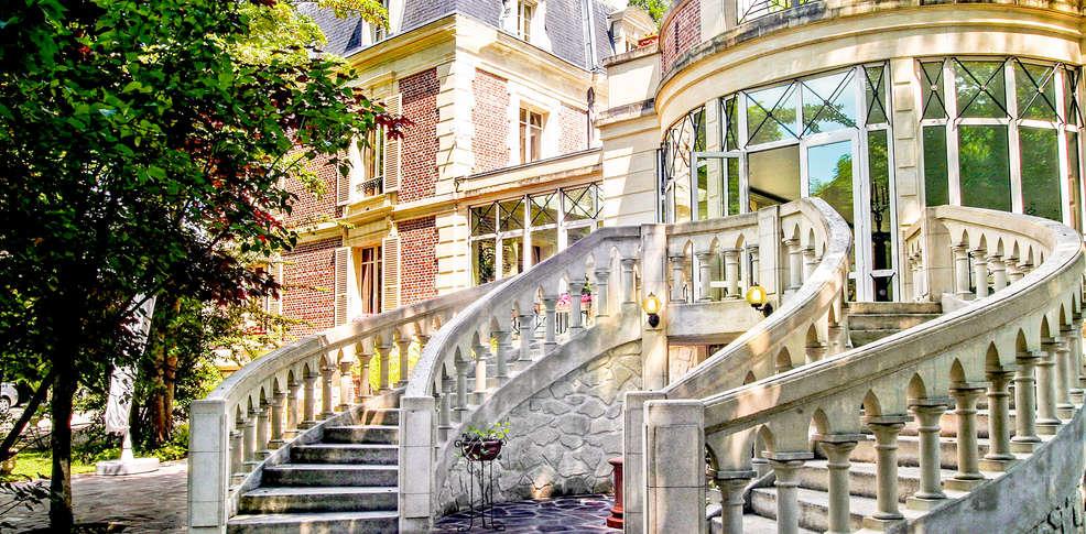 h tel les jardins d 39 picure h tel de charme bray et l. Black Bedroom Furniture Sets. Home Design Ideas