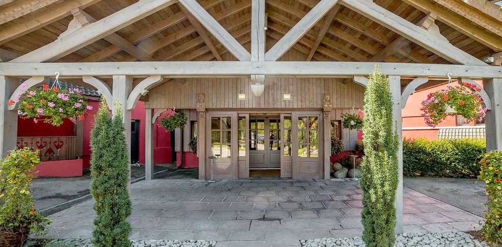 H tel les jardins de sophie h tel de charme xonrupt longemer - Hotel les jardins de sophie gerardmer ...