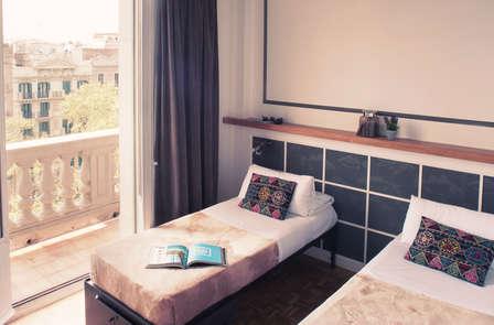 Vive Barcelona alojándote en este centrico hotel en Paseo de Gracia