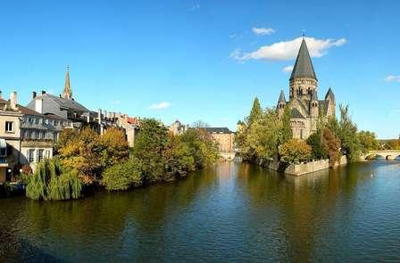 Week-end sur les berges de la Moselle à Metz